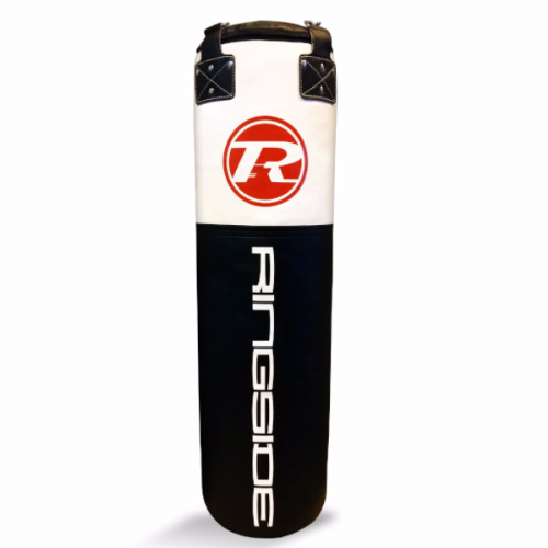 Ringside Synthetic Leather 4ft Punchbag - Black/White